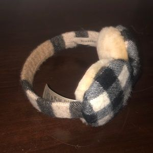 Authentic Burberry Winter Ear Muffs
